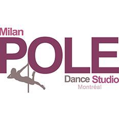 website design for Milan Pole Dance Studio