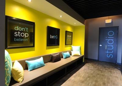 Interior Signage Design for Tru Ride Spin Studio