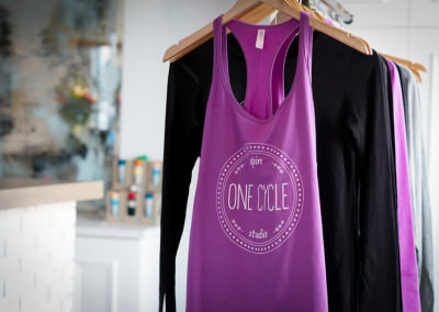 Brand Identity (Apparel) Design for One Cycle Spin Studio