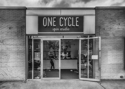 Signage Design for One Cycle Spin Studio