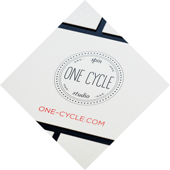 Marketing, Website Design, Logo Design for One Cycle Spin Studio