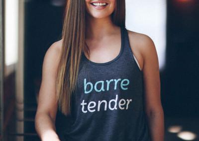 Brand Identity (Apparel) Design for Barre Body Studio