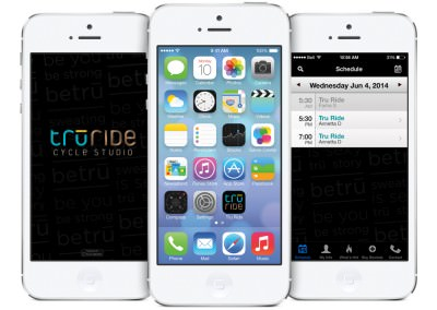 Fitness Schedule App for Tru Ride Spin Studio (consultation)
