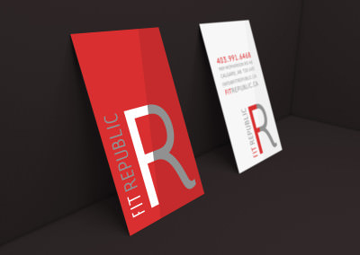 Business Cards Design for Fit Republic